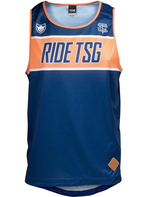 TSG Free Tank Men blue-orange